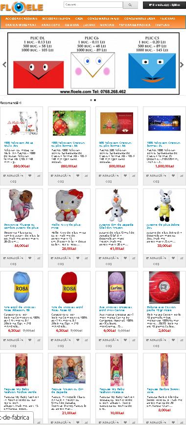Machete carti de vizita si modele de site